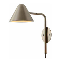 Cove Wall Sconce, Satin Nickel