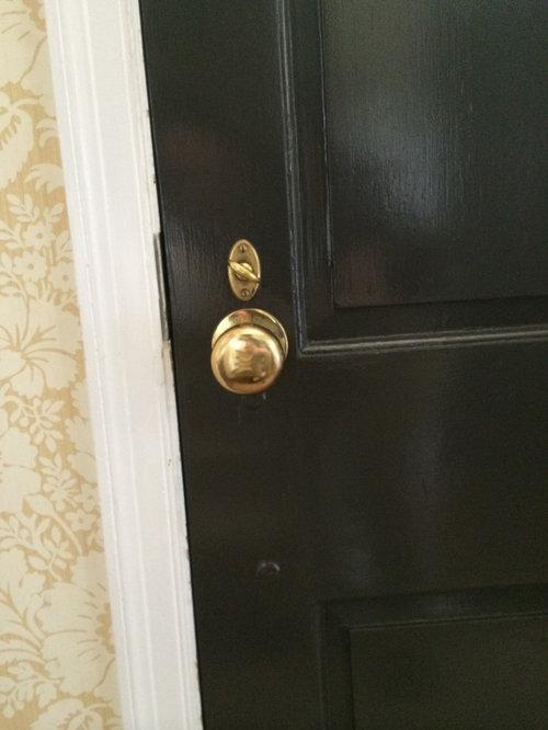 Unlacquered Brass Door Hardware