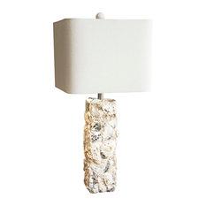 "Paradise Shell Table Lamp, 29.5""H"