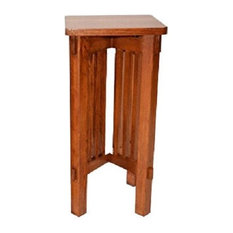Arts and Crafts Mission Solid Oak Plant Stand