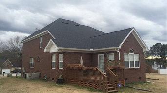 Larry Key's New Roof