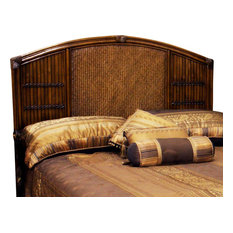 tropical beds and headboards  houzz, Headboard designs