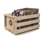 Record Storage Crate