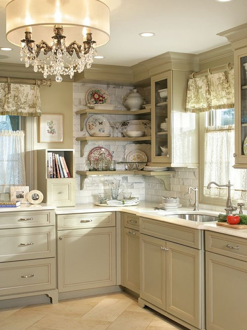 Olive Green Kitchen Houzz