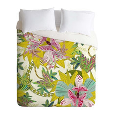 Deny Designs Sabine Reinhart Life Is Music Duvet Cover - Lightweight