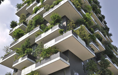 World of Design: Trees Bring Nature to a High-Rise in Milan