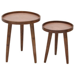 Midcentury Side Tables And End Tables by Brimfield & May