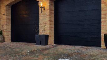 Sorte garageporte