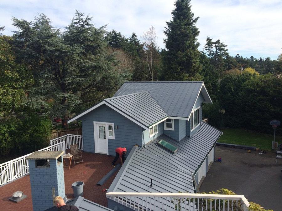 """ASC 16"""" 26 Gauge Metal Roof - Slate Grey"""