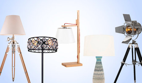 Should The Table Lamp And Floor Match