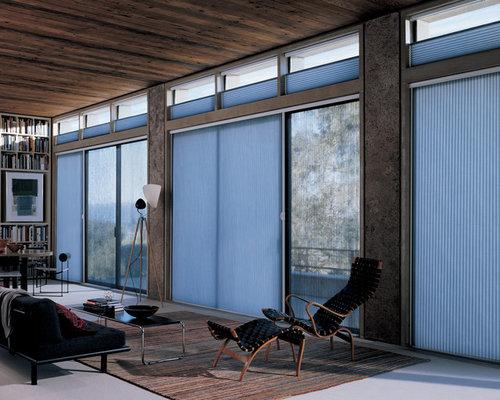 honeycomb vertical blinds duette architella vertiglide vertical blinds - Vertical Blinds For Sliding Glass Doors