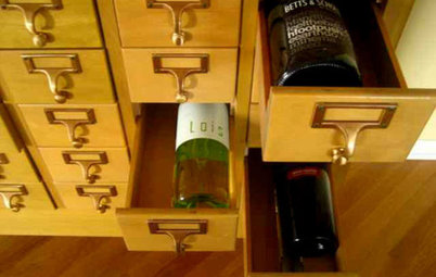 Where to Store your Cabernet & Chianti? In the Card Catalog, of Course!