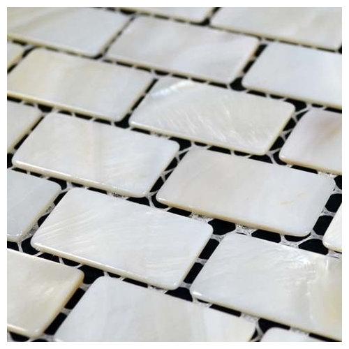 "Free Shipping 4pcs Shell Pearl Beach Wall Painting Print: 12""x12"" Mother Of Pearl Mosaic Kitchen Backsplash Tile"