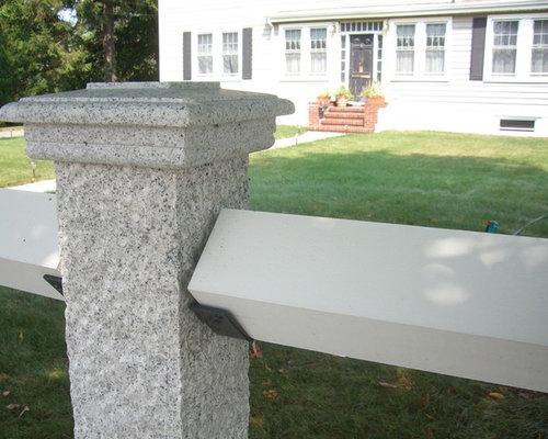 Granite Fence Posts
