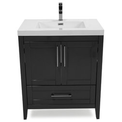 Transitional Bathroom Vanities And Sink Consoles by Flairwood Decor