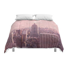 Society6 Stardust Covering New York Comforter, Queen, 88x88