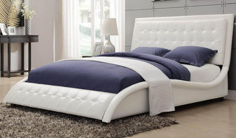 Tully White Queen Bed