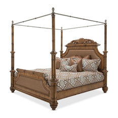 Emma Mason Signature Comparison California King Poster Bed with Canopy Kit in Ca