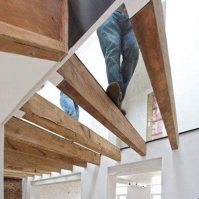Contemporain Couloir by metamorphOse collectif d'architectes