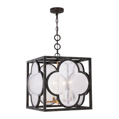 Trinity Collection 4-Light Aged Copper Finish Pendant
