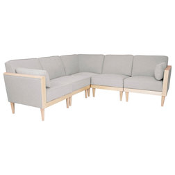 Midcentury Sectional Sofas by GDFStudio