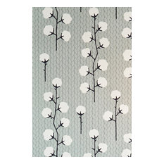 Sweet Cotton Wallpaper, Grey
