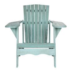 Safavieh Mopani Outdoor Chair, Beach House Blue
