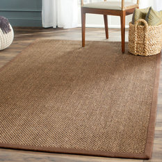 Safavieh - Safavieh Jenny Natural Fiber Rug, Brown and Brown, 5'x8' - Area Rugs