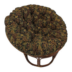 "44"" Tapestry Papasan Cushion, Fits 42"" Papasan Frame, Autumn Harvest"
