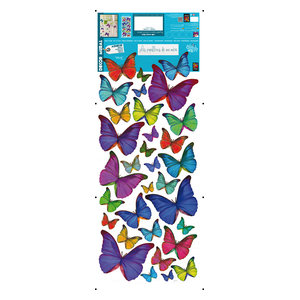 Butterfly Wall Stickers, Set of 3
