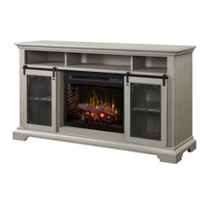 Dimplex DFP25LD-1934 71 Inch Wide Olivia Media Console Fireplace with 5118 BTU