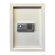 Wall Safe with Electronic Lock, Beige