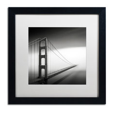Trademark Fine Art - 'Into The Mystic' Matted Framed Canvas Art by Dave MacVicar - Photographs