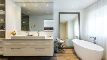 Master bathroom elegance