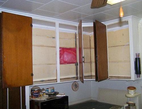 Kitchen Cabinet Shelves Rehab