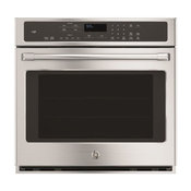 """ge Cafe Series 30"""" Built-In Single Convection Wall Oven"""