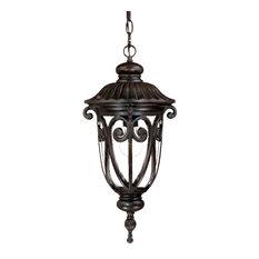 "Acclaim Lighting 2116 Naples 1 Light 20.5""H Outdoor Pendant - Wood"