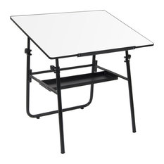 Studio Designs Ultima Fold-A-Way Drafting Table With Black Base