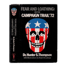 """1973 """"Fear & Loathing on Campaign Trail '72"""" by Dr. Hunter S. Thompson"""