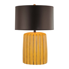 Ambience 25 in. Table Lamp in Yellow