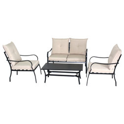 Transitional Outdoor Lounge Sets by Home Beyond