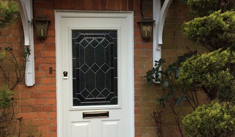 Reproduction of original timber Front Door as double glazed composite.