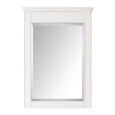 "Avanity Windsor 24"" Mirror, White Finish"