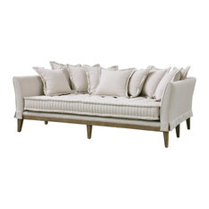 Attractive Dedon French Country Coastal Style Sofa, Light Sand   Sofas
