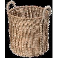Round Seagrass Basket, Large