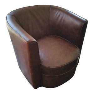 Accent Leather Chair