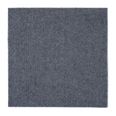 "Achim Importing Co. - Nexus 12""x12"" Self Adhesive Carpet Floor Tiles, Set of 12, Gray - Carpet Tiles"