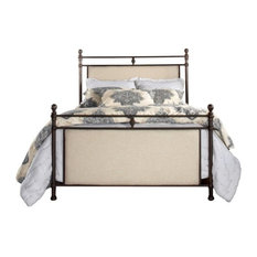Ashley Bed, Metal Bed Rail Included, Queen