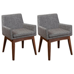 Midcentury Dining Chairs by International Home Miami Corp