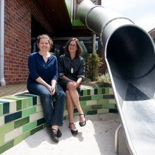 My Houzz: A Playground Designer Slips in a Slide at Home